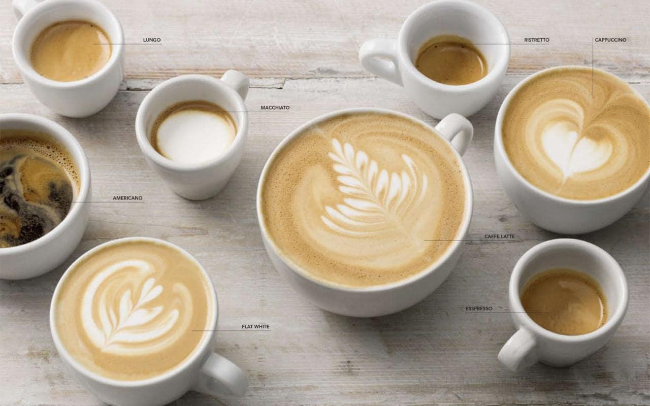 تنوع قهوه های موجود در دنیا