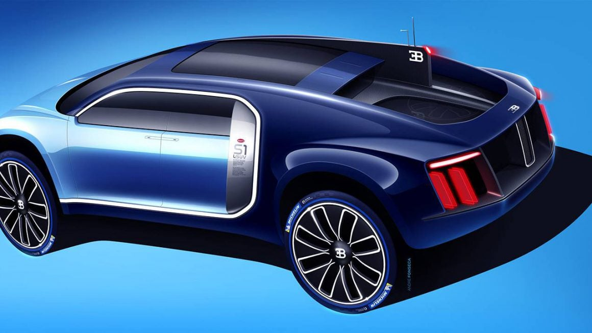 خودروی شاسی بلند بوگاتی