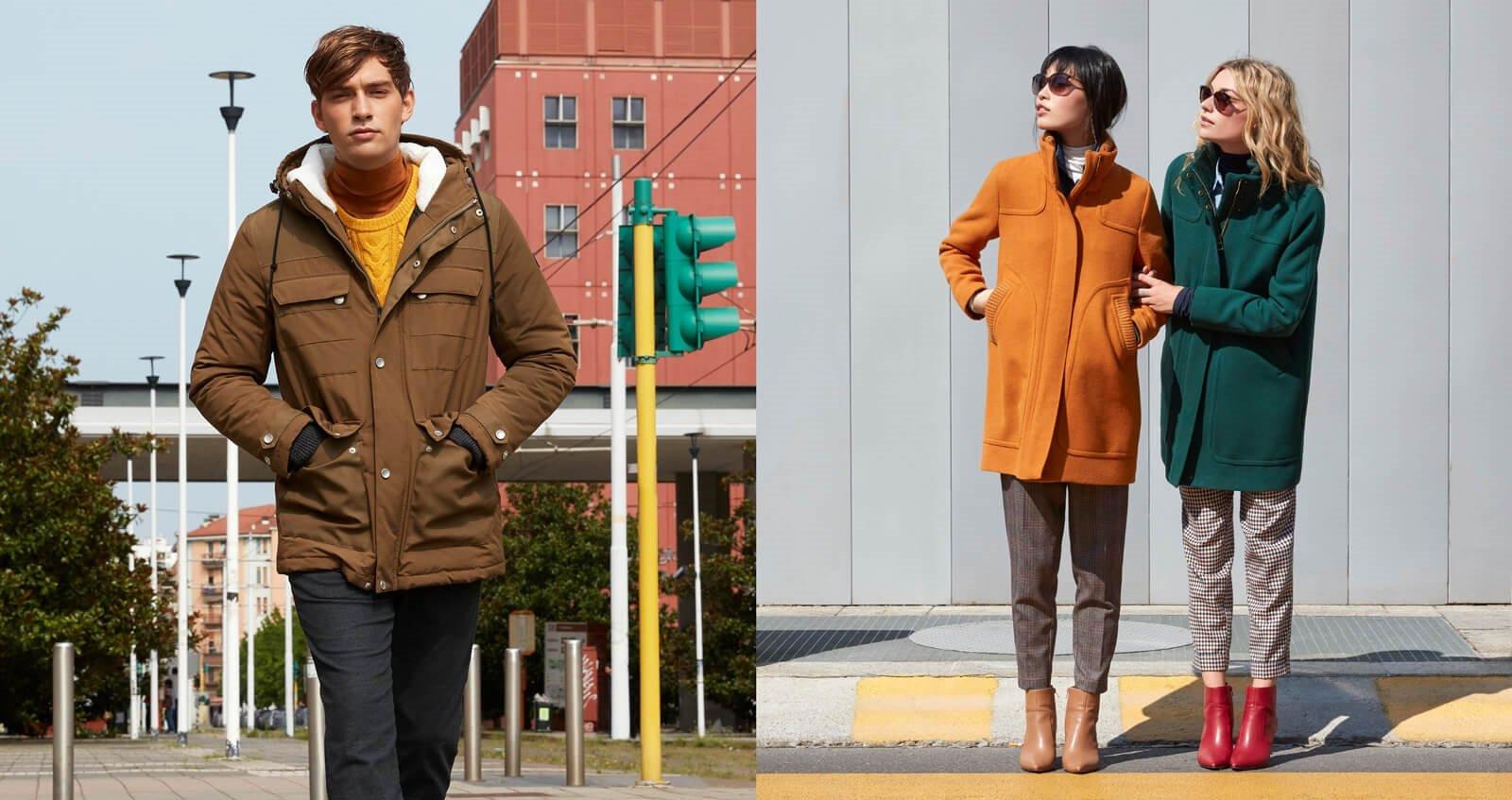 از رنگها نترسید؛ ترکیببندی رنگها در لباسهای پاییزی و زمستانی خانمها