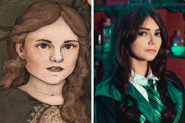 اندرومدا بلک در فیلم Harry Potter
