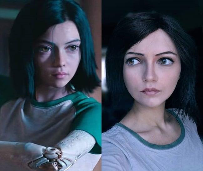 آلیتا در فیلم Alita: Battle Angel