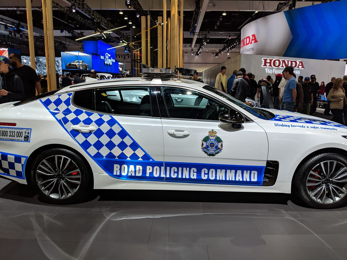 Kia Queensland Police Stinger