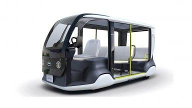 اتوبوسهای برقی تویوتا