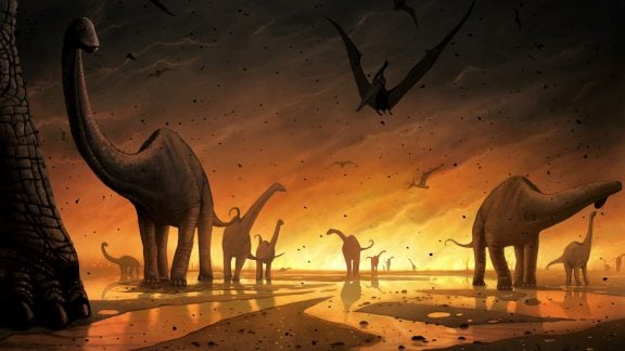 انقراض دایناسورها