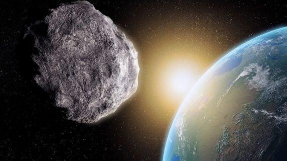 پایان تمدن بشری با برخورد سیارک
