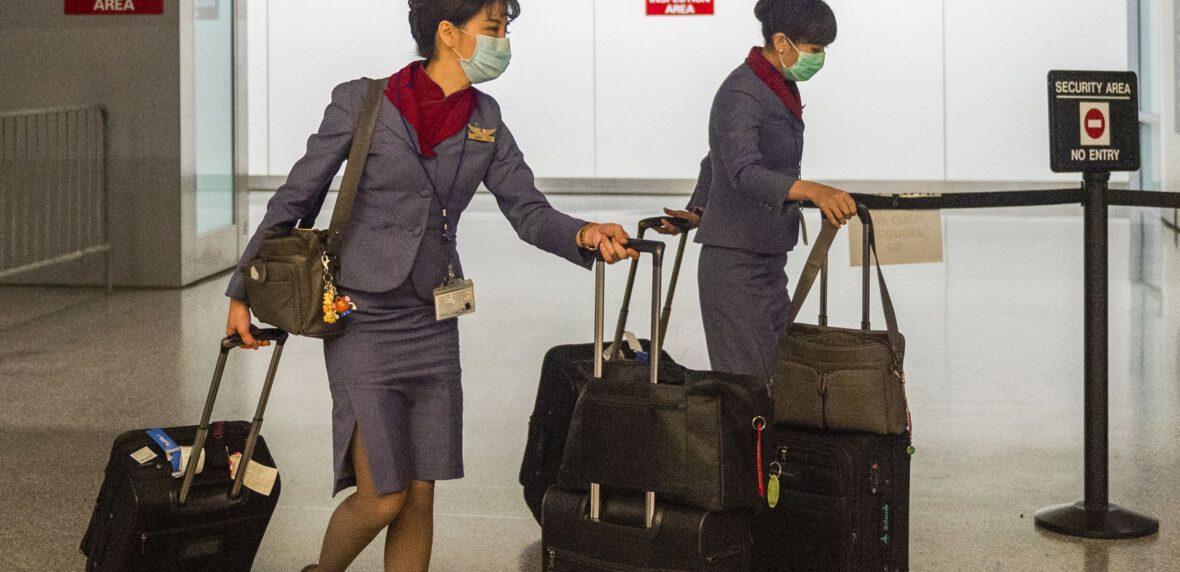 سفرهای هوایی با ویروس کرونا