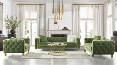طراحی داخلی سبز