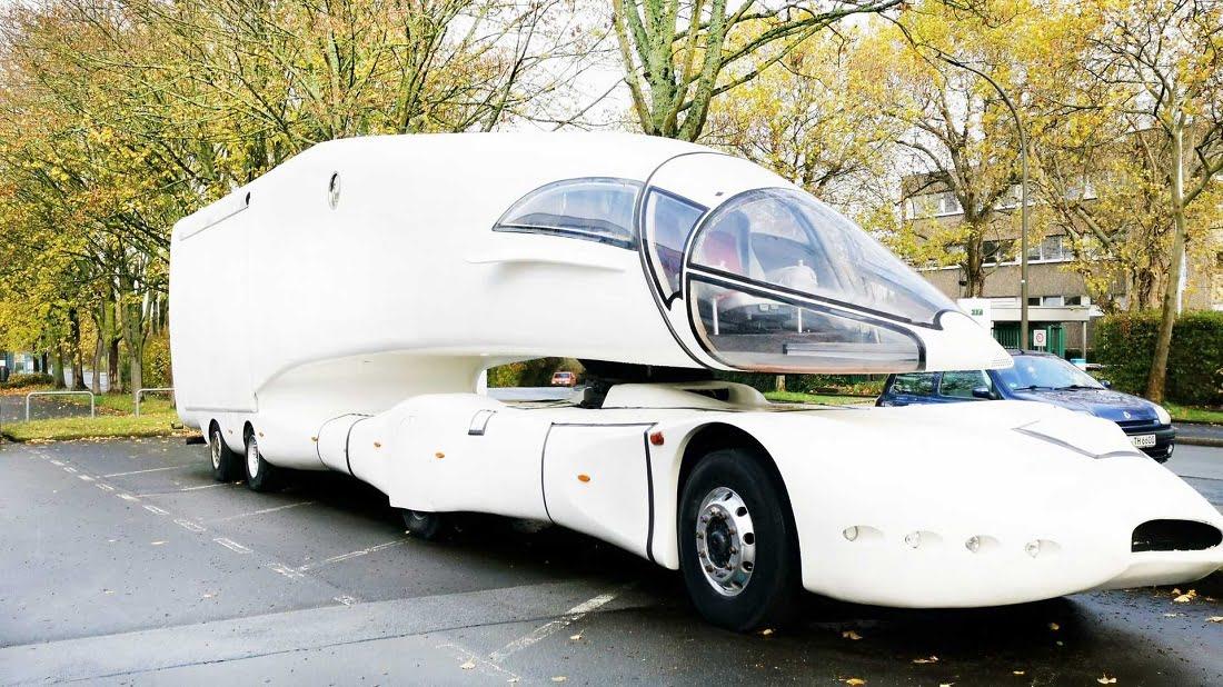 ظاهر فضایی کامیون نسل آینده Innotruck