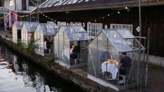گلخانه قرنطینه: رستورانی در آمستردام