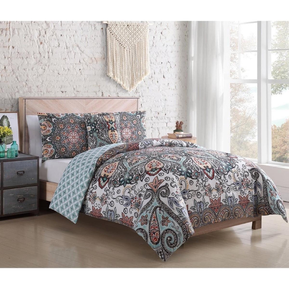 رختخواب سبک بوهو - 10. الگوی بته جقه