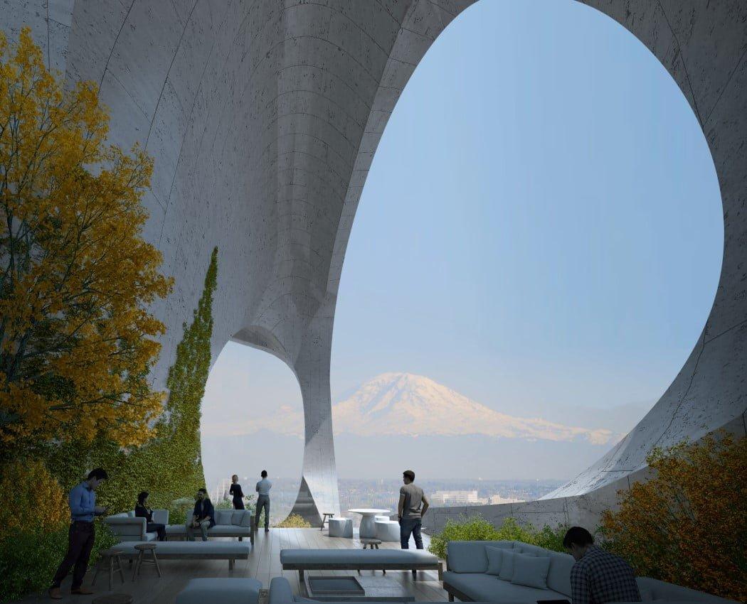 معماری پس از COVID-19 - خطوط منحنی و هارمونیک