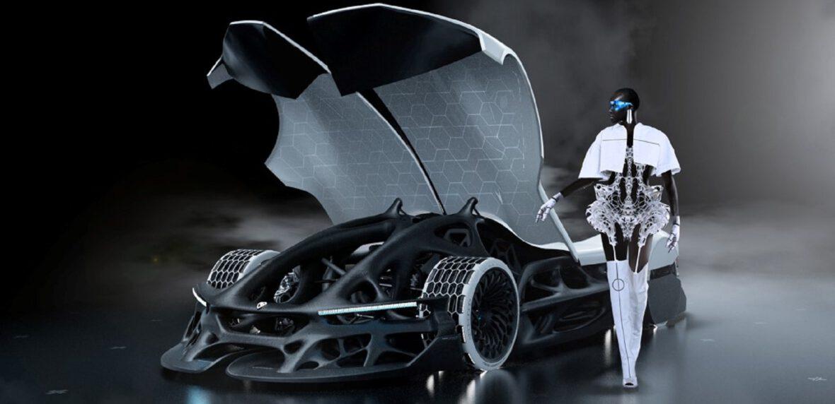ابرماشین RIMAC SCALATAN خودروی مفهومی