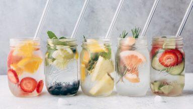 5 دستور تهیه آب طعمدار طبیعی