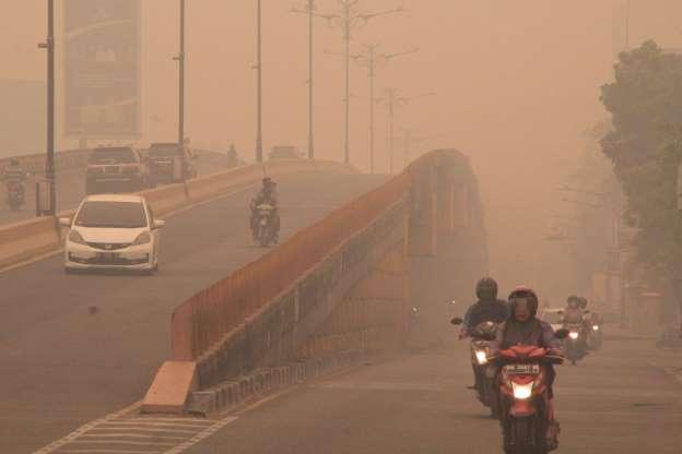 آلودگیهای ناشی از آتشسوزیهای اخیر در جهان