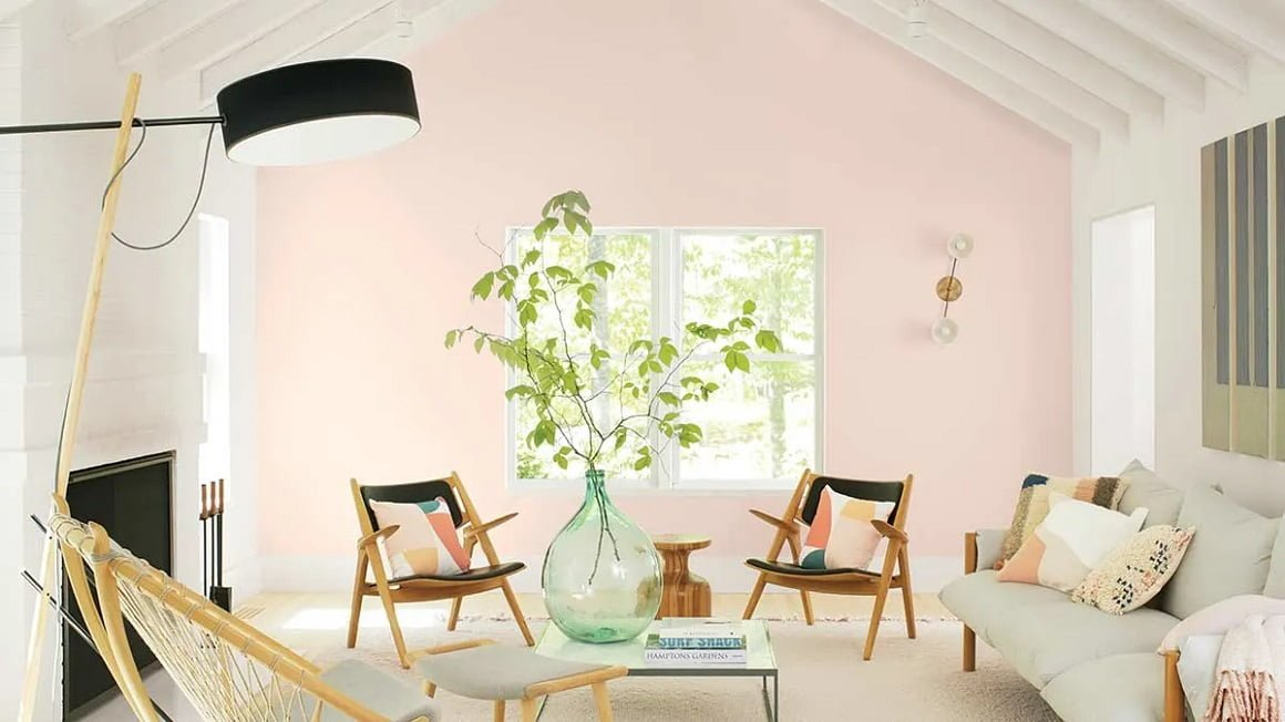 رنگ‌های ترند سال 2020 - Benjamin Moore First Light 2102-70
