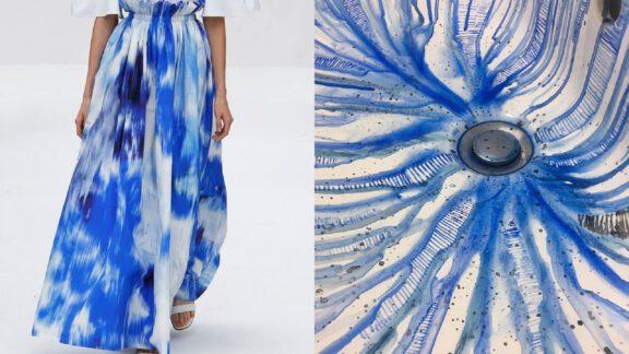 ایده خلاقانه نقاشیهای خیره کننده آبرنگی روی سینک دستشویی توسط هنرمند ایتالیایی