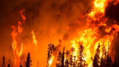 آتش سوزی در ایران
