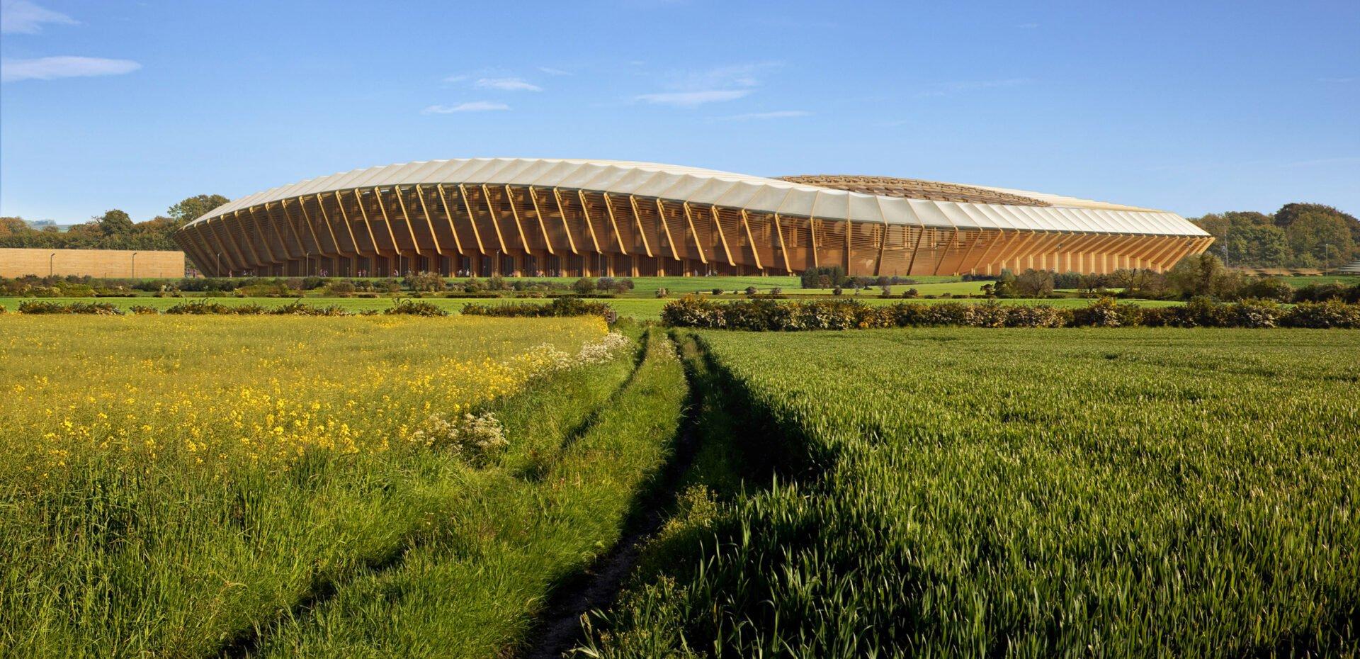 استادیوم چوبی