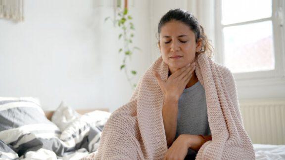 درمان خانگی گلودرد