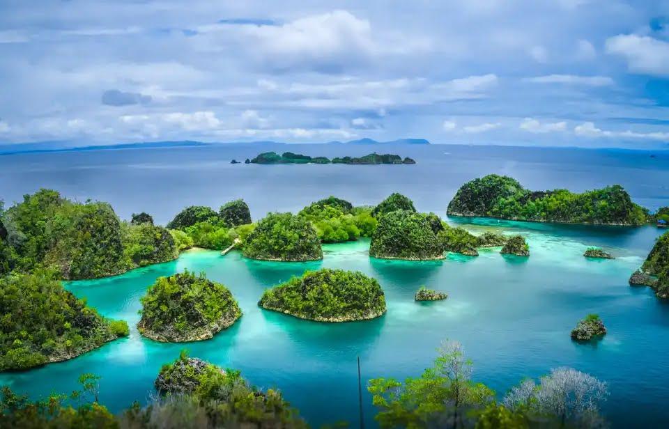 کشورهایی با بیشترین جزایر