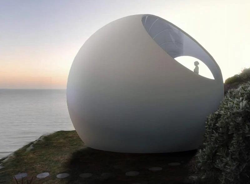 خانههای کروی غیرعادی - طراحی Double Ring House برای تمامی اقلیمها