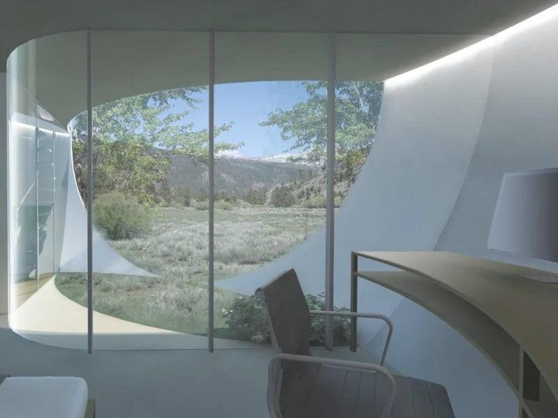 خانههای کروی غیرعادی - فرم منحنی دیوارها برای استفاده حداکثری ار فضای داخلی