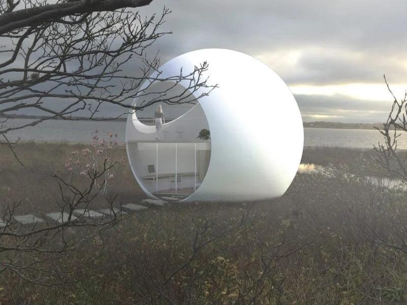 خانههای کروی غیرعادی - حجم کروی مناسب برای چرخش در هر سایتی
