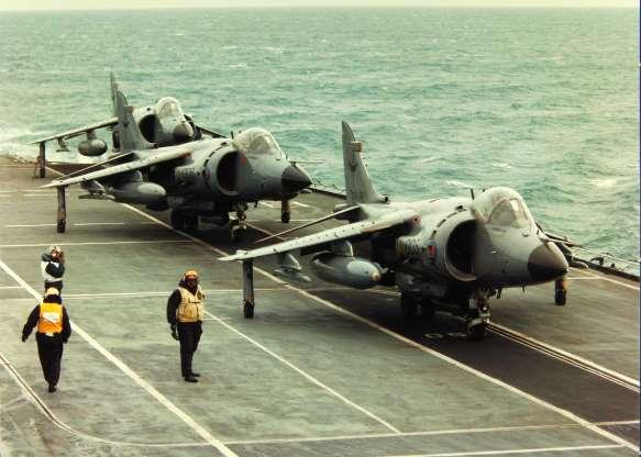تاریخچه هواپیماهای نظامی آمریکا - 30. Hawker Siddeley Harrier
