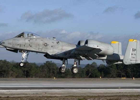تاریخچه هواپیماهای نظامی آمریکا - 33. A-10C Thunderbolt II
