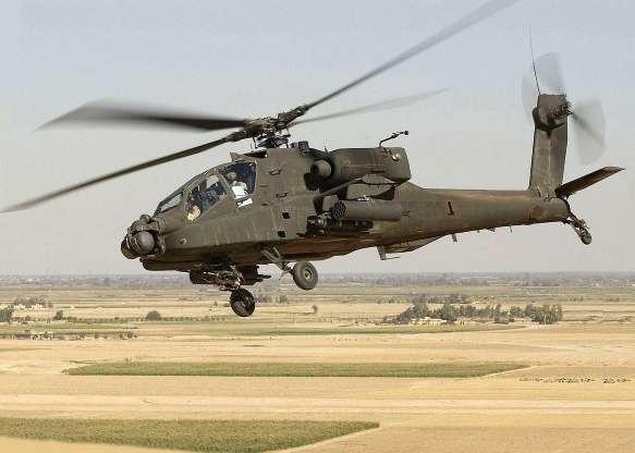 تاریخچه هواپیماهای نظامی آمریکا -  36. هلیکوپتر تهاجمی AH-64 Apache Longbow