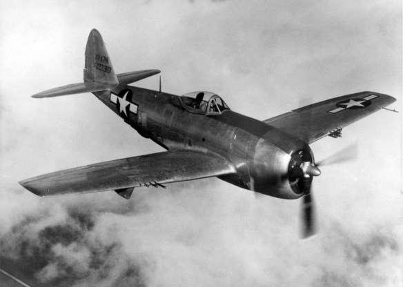 تاریخچه هواپیماهای نظامی آمریکا - 16. Republic P-47 Thunderbolt