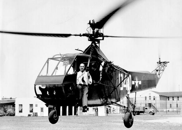 تاریخچه هواپیماهای نظامی آمریکا - 17. Sikorsky R-4