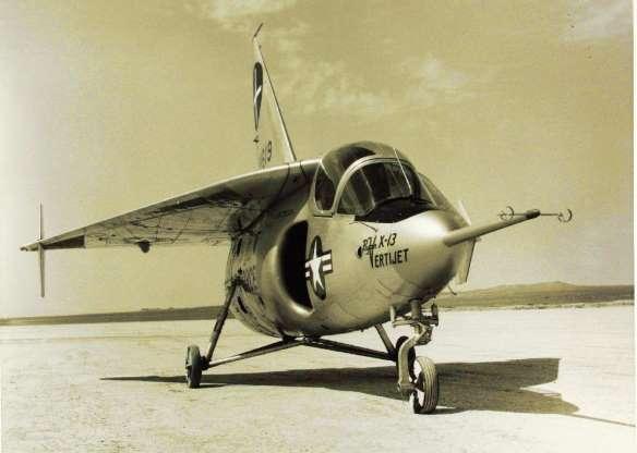 تاریخچه هواپیماهای نظامی آمریکا - 23. Ryan X-13 Vertijet