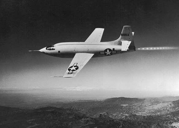 تاریخچه هواپیماهای نظامی آمریکا - 20. Bell X-1