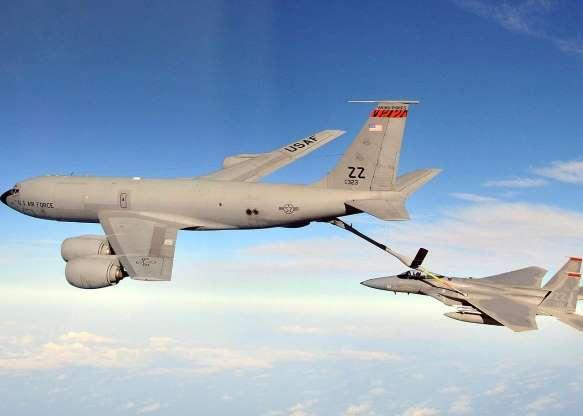 تاریخچه هواپیماهای نظامی آمریکا - 25. Boeing KC-135 Stratotanker