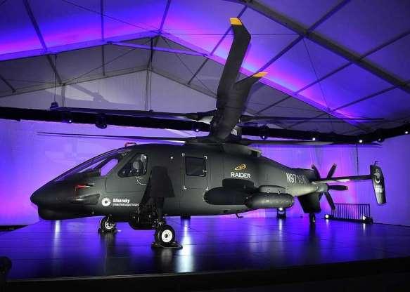 تاریخچه هواپیماهای نظامی آمریکا - 50. Sikorsky S-97 Raider