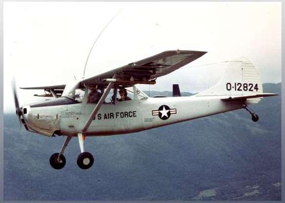 تاریخچه هواپیماهای نظامی آمریکا - 21. O-1 Bird Dog