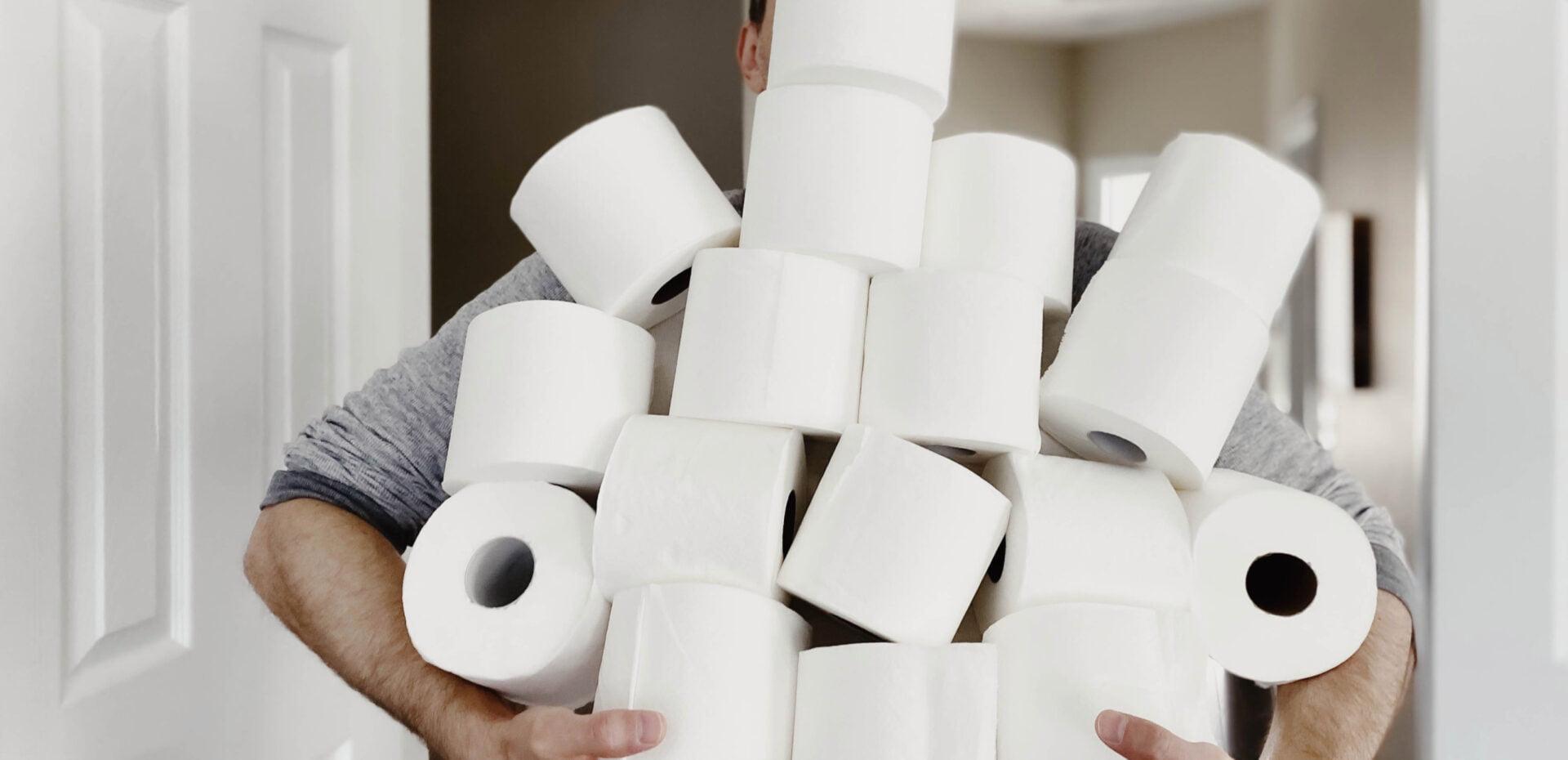 دستمال توالت