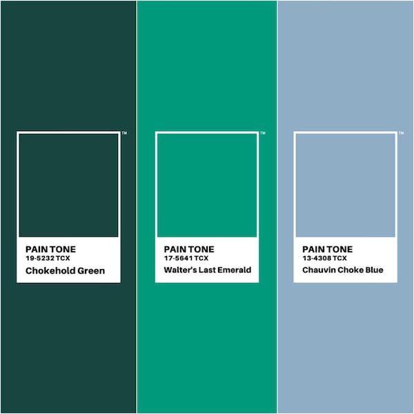 ناراحت کنندهترین رنگهای پنتون در سال 2020 - سبز خفه کننده