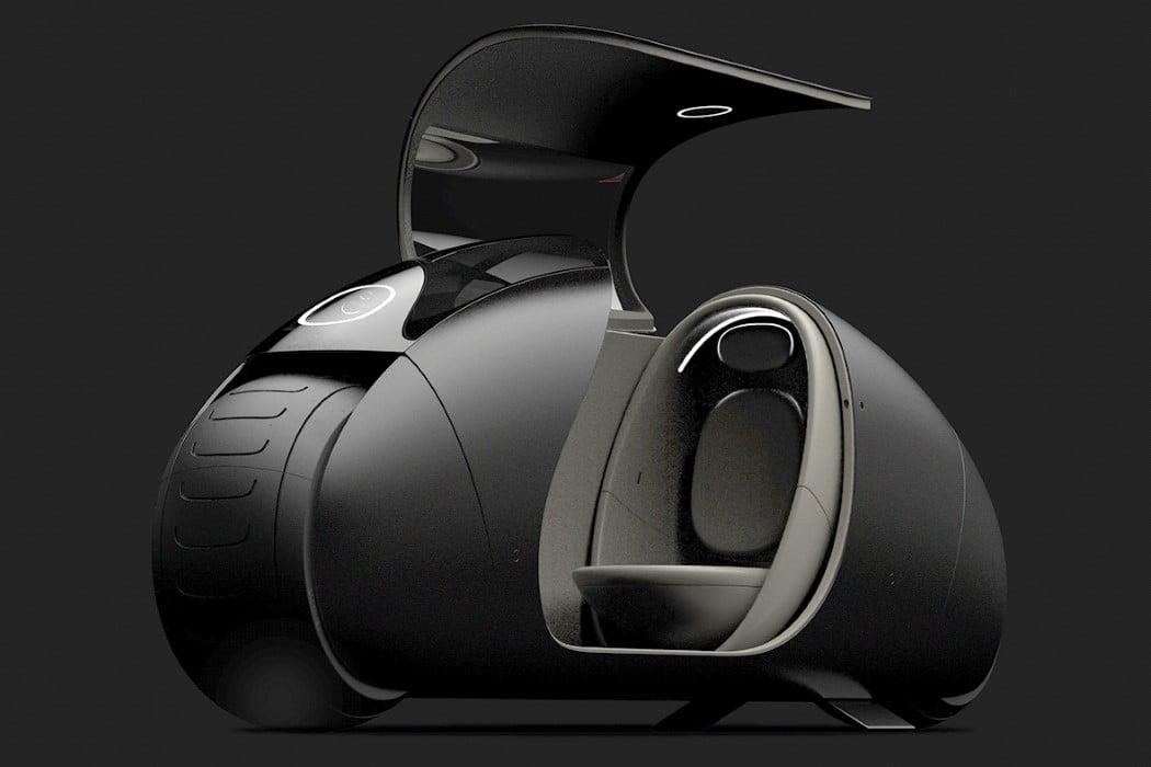 موتور سیکلت خودران با کابین سرپوشیده The Autonomous LDR