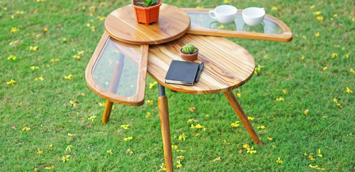 طراحی پایدار میز عسلی