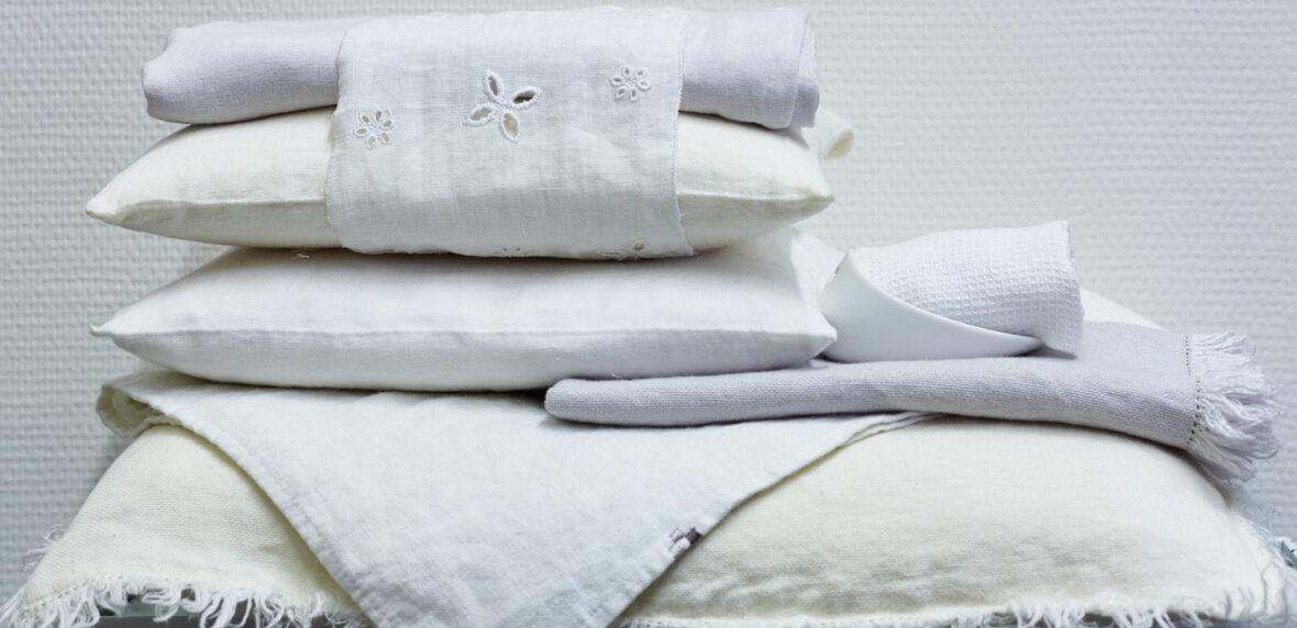 پارچههای کتانی برای سرویس خواب