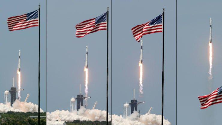 اتمام ماموریت تاریخی ناسا - ماموریت Demo-2