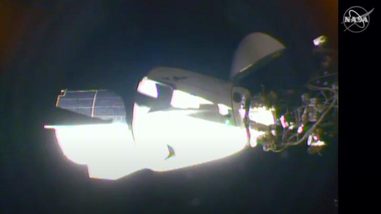 اتمام ماموریت تاریخی ناسا - موفقیت SpaceX