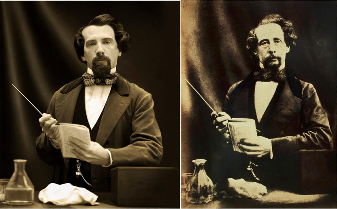 چهرههای تاریخی و نوادگان مستقیم - چارلز دیکنز