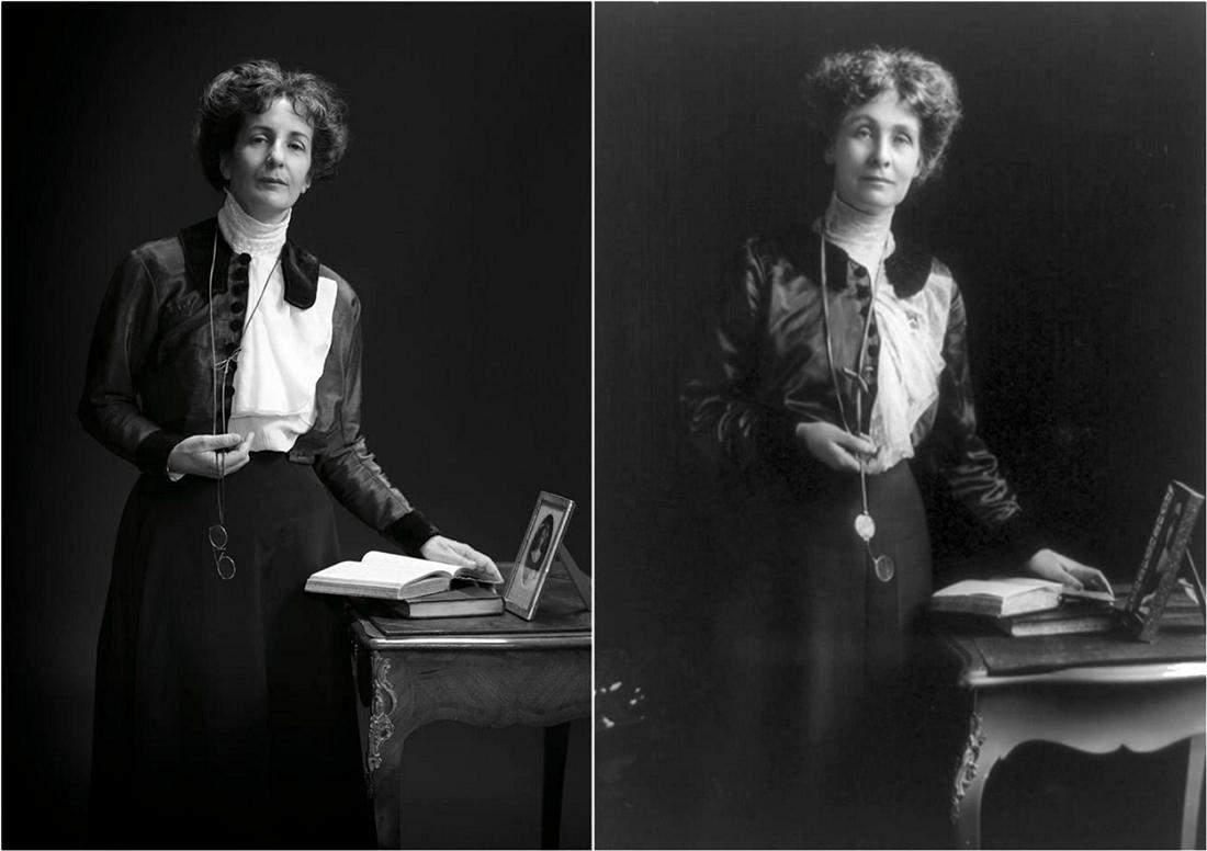 چهرههای تاریخی و نوادگان مستقیم - امیلین پنکهرست