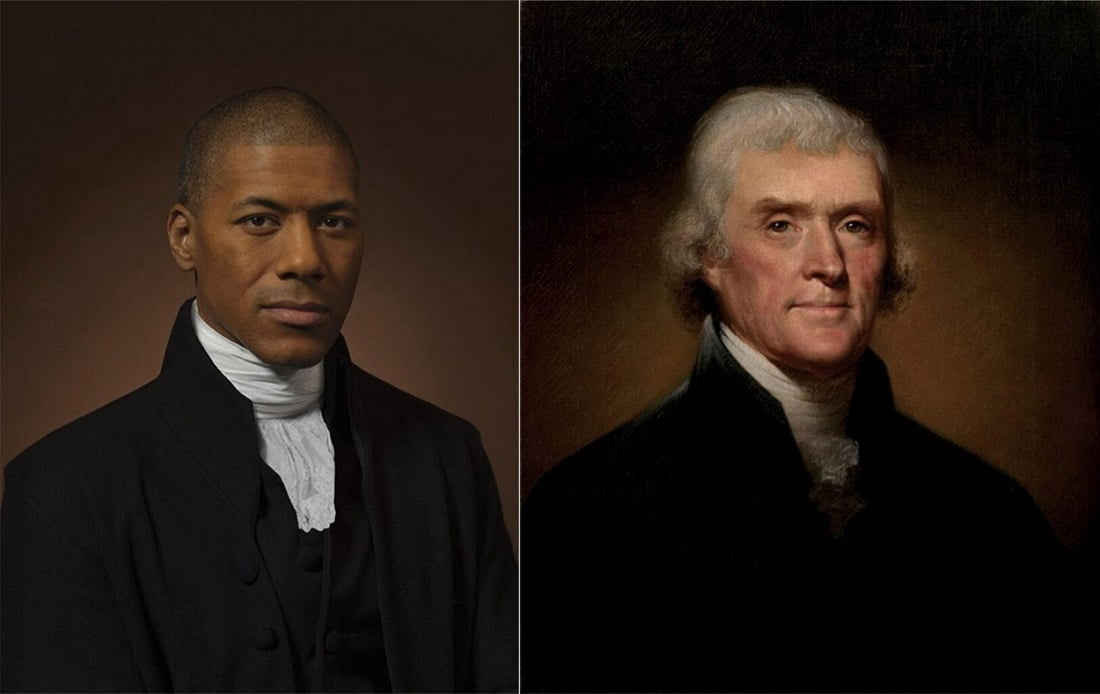 چهرههای تاریخی و نوادگان مستقیم - توماس جفرسون