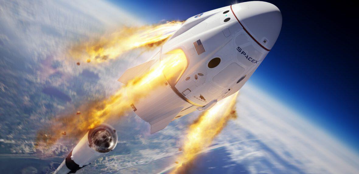اتمام ماموریت تاریخی ناسا با فرود موفقیت آمیز کپسول دراگون