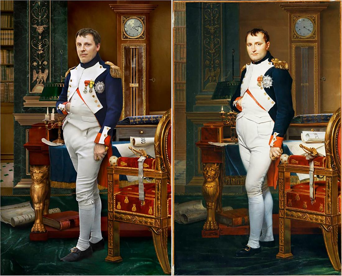 چهرههای تاریخی و نوادگان مستقیم - ناپلئون بناپارت