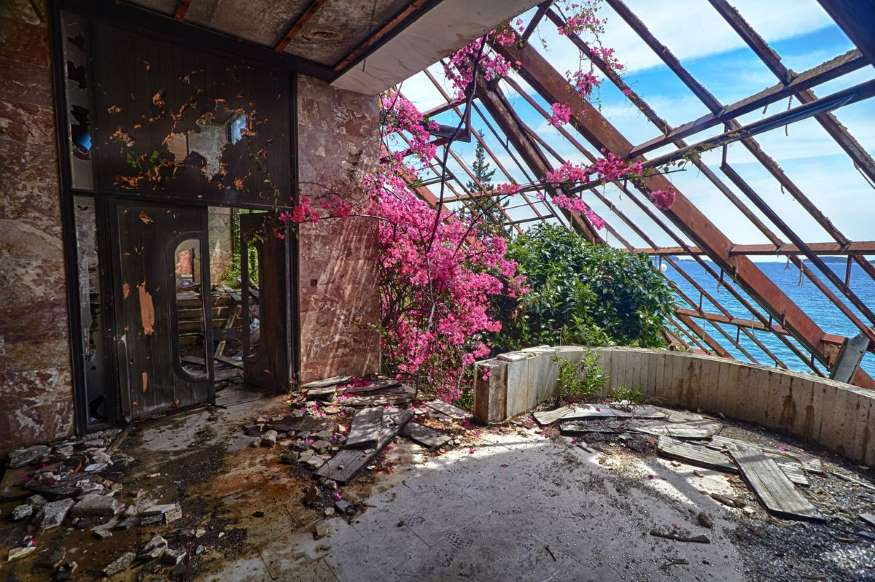 زیباترین مکانهای رها شده در جهان - 2. هتل Goricina، کرواسی